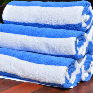 Pool towels linen hire Sea Breeze Services Victor Harbor